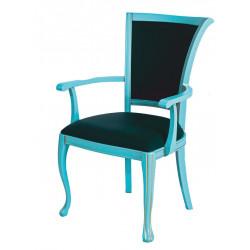 Стул с подлокотниками (кресло) Вивальди-7 в эксклюзивном цвете с патиной