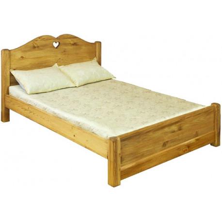 Кровать LCOEUR 120 PB (120 х 200) с низким изножьем