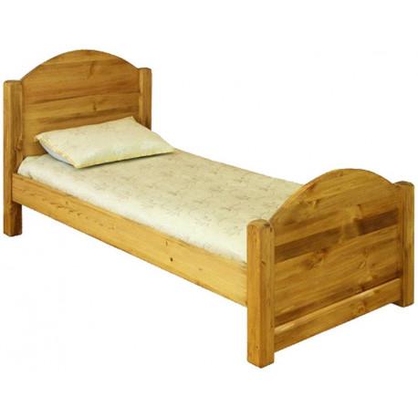 Кровать LMEX 80 с высоким изножьем