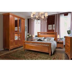 Спальня Венеция с 4-дверным шкафом
