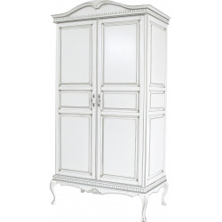 Шкаф для одежды Камелия-1 цвета серебро