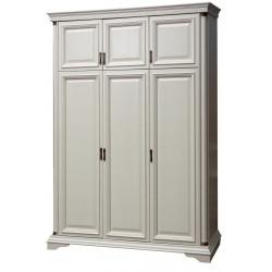 Шкаф Омега 34-1 Д в белом цвете