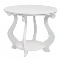 Стол журнальный Виват-М мини в белом цвете