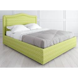 Кровать с подъемным механизмом K01 (180 на 200) в ткани с принтом