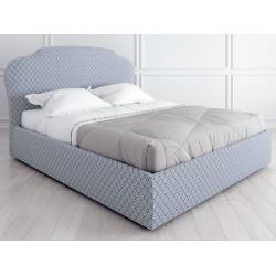Кровать с подъемным механизмом K03 (120 на 200) в ткани с принтом