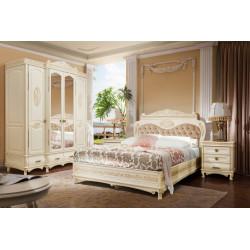 Спальня «Флоренция» (ваниль с патиной орех)