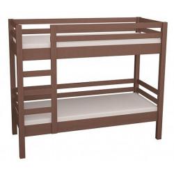 Кровать 2-ярусная 80*190 В-КР-040 коричневого цвета