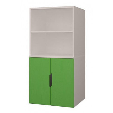 Шкаф стеллаж 2-дверный К-ШС-111