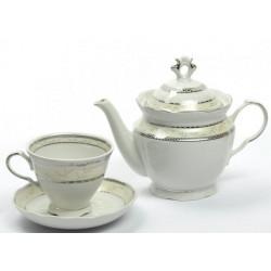 2.Сервиз чайный 14 предметов ф. Надежда рис. Европейский (1 сорт)