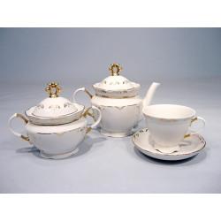 8.Сервиз чайный 14 предметов ф. Надежда рис. 2211 (1 сорт)