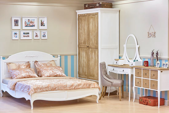 Спальня в стиле Винтаж и Прованс